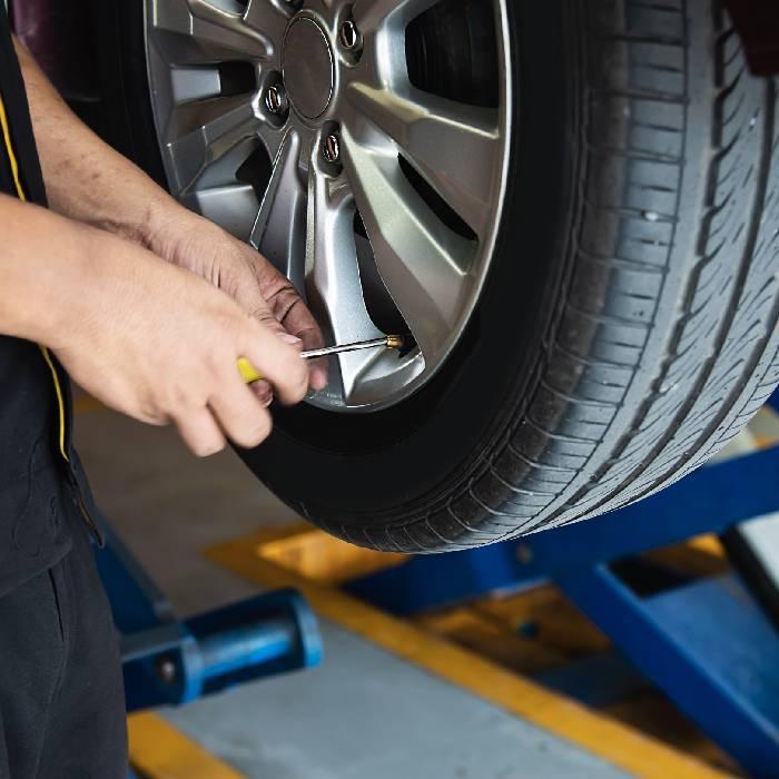 Montage pneu